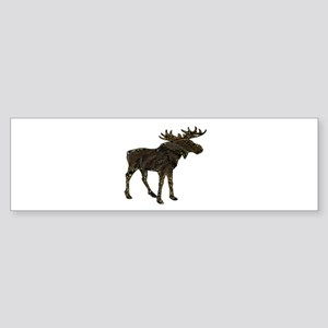 MOOSE SHADOWS Bumper Sticker